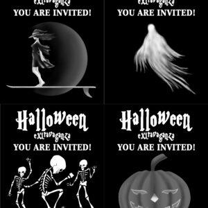 Halloween Extravaganza B&W